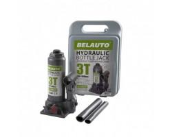 Домкрат гидравлический (бутылочный) БЕЛАВТО 3т 180-340мм (пластик) DB03P