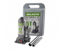 Домкрат гидравлический (бутылочный) БЕЛАВТО 5т 195-380мм (пластик) DB05P