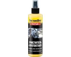 Очиститель Протектант для винила, кожи, пластика, резины, с запахом новая машина