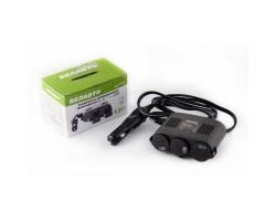 Разветвитель автомобильного прикуривателя БЕЛАВТО 3в1+USB