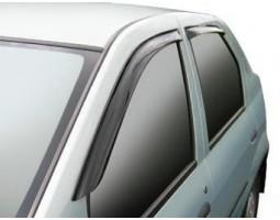 Дефлекторы окон (ветровики) Renault Logan 2004-2013 темные 4 шт. EGR (BRLOGANSW)