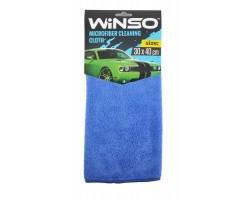 Салфетка из микрофибры WINSO 30х40см, синяя (150200)