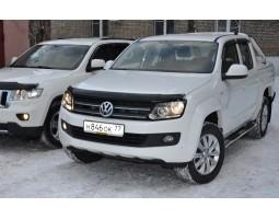Дефлекторы окон (ветровики) Volkswagen Amarok 2010- темные 4 шт. EGR (92496023B)