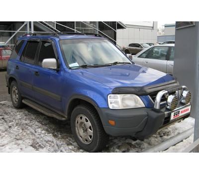 Дефлектор капота (мухобойка) Honda CRV 1996-2001 темный EGR (13011)