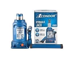 Домкрат гидравлический бутылочный CONDOR 12т картон (K5013)