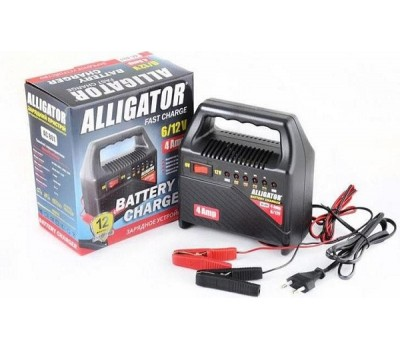 Зарядное устройство АКБ ALLIGATOR 4А, 6-12V
