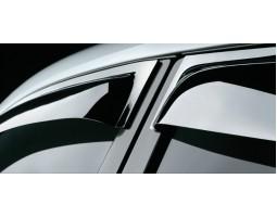 Дефлекторы окон (ветровики) Mitsubishi ASX 2010-2013 темные 4 шт. EGR (92460033B)