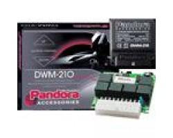 Интерфейс стеклоподъемников Pandora DWM 210