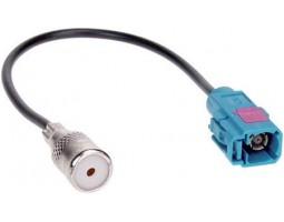 Антенный адаптер 1521-02 Audi/ BMW/ VW FAKRA ( штатная маг -iso)