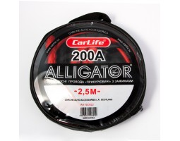 Провода-прикуриватели ALLIGATOR 200А, 2,5м, круглая сумка