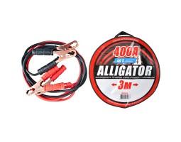 Провода-прикуриватели ALLIGATOR 400А, 3м, круглая сумка