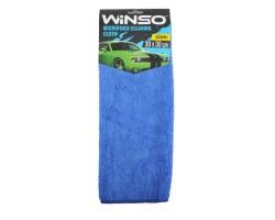 Салфетка из микрофибры WINSO 30х30см, синяя (150100)