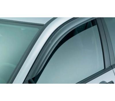 Дефлекторы окон (ветровики) Nissan Qashqai 2007- дымчатые передние 2 шт. EGR (91263031B)