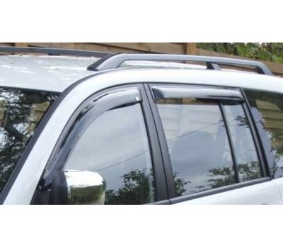Дефлекторы окон (ветровики) Mitsubishi Pajero Sport 2009- темные 4 шт. EGR (92460032B)