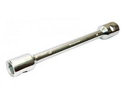 Ключ балонный для грузовиков d-22, 24x27x395мм <ДК>