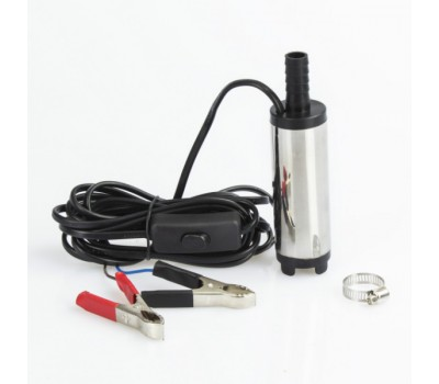 Насос для перекачки топлива REWOLT погружной 38мм 24В RE SL016B-24V