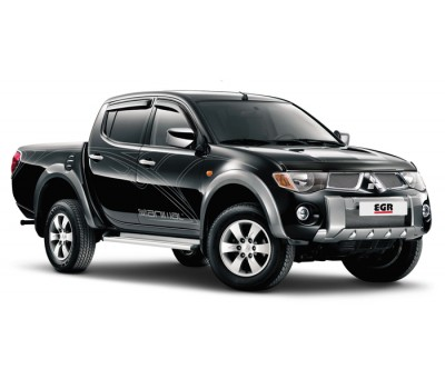Защита фар Mitsubishi L 200 2006-2013 темная EGR (226170DSSE)