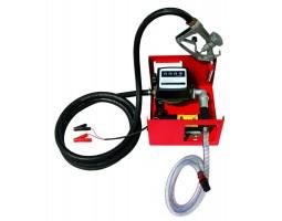 Насос топливо перекачивающий помповый 24В счетчик+пистолет Дорожная карта (DK8020-24V)