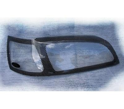 Защита фар Nissan X-Trail 2001-2006 карбон EGR (227080CF)
