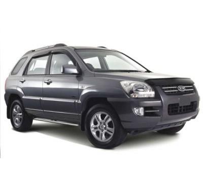 Защита фар Kia Sportage 2005-2009 карбон EGR (218030CF)