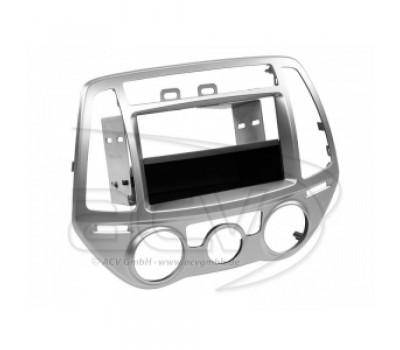 Рамка переходная 281143-24-1 Hyundai i20 (PB Facelift)07/12->silver
