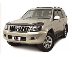 Дефлектор люка Toyota Land Cruiser Prado 120 2003-2008 темный EGR (700605)