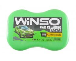Губка WINSO для мытья авто, с мелкими порами 240*160*70мм, зеленая (151200)