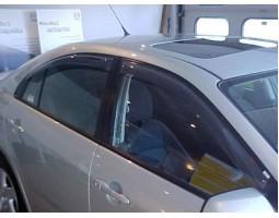 Дефлекторы окон (ветровики) Mazda 6 вагон 2002-2007 темные передние 4 шт. EGR (92450017B)
