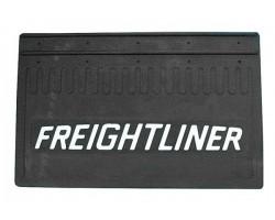Брызговик 350-520 Freightliner. резина. объемный. белая надпись. к-т
