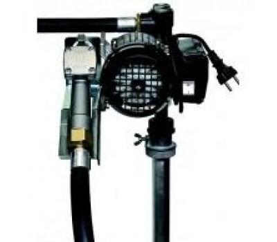 Насос Adam Pumps для ДТ на бочку со счетчиком TECH FLOW без шланга и пистолета DRUM TECH 60 л/мин 220В