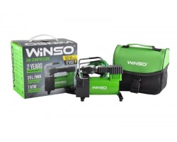 Компресcор автомобильный WINSO 7 Атм, 35 л/мин, 150Вт, кабель 3м, шланг 1м (121000)