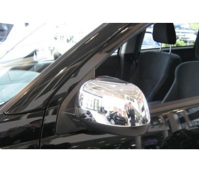 Накладки на боковые зеркала Mitsubishi Pajero -2007 Хром EGR (MC226190)