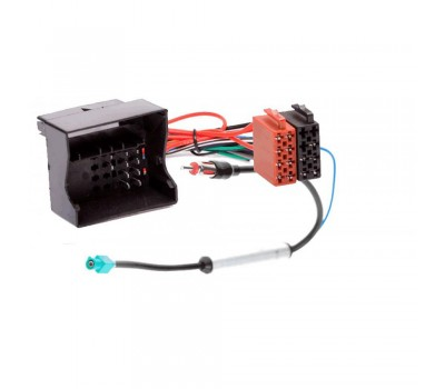 Переходник Авто-ISO 125-105 VW-iso (с антенным адаптером) 04->