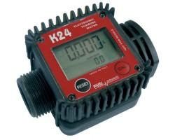 K24 счетчик электронный для ДТ бензина 5-110 л/мин Piusi
