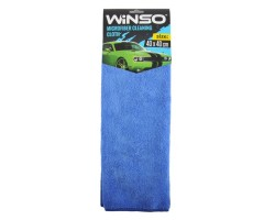 Салфетка из микрофибры WINSO 40х40см, синяя (150300)