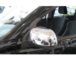Накладки на боковые зеркала Mitsubishi Lancer -2007 Хром EGR (MC3933)