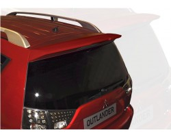 Спойлер задней двери Mitsubishi Outlander 2007-2011 под покраску EGR (SPLR226180)