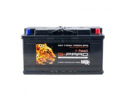 Аккумуляторная батарея 110 Аh Fast G-Pard Euro (0)