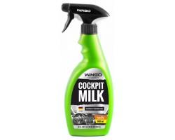 Полироль-молочко для панели приборов WINSO COCKPIT MILK VANILLA, 500мл, триггер (810600)