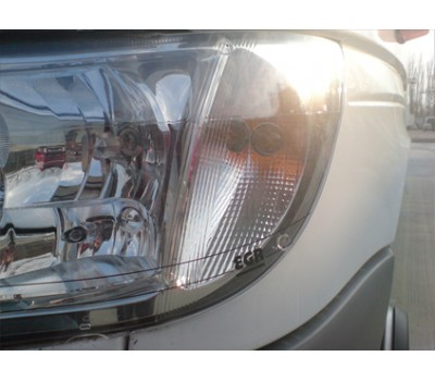 Защита фар Mercedes Benz Vito 1997-2003 прозрачная EGR (3823)