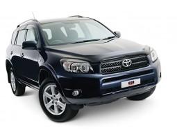 Дефлекторы окон (ветровики) Toyota Rav 4 2006-2012 темные 4 шт. EGR (92492053B)
