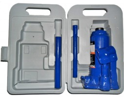 Домкрат бутылочный 4т пластик H-185-350 Дорожная Карта (JNS-04PVC)