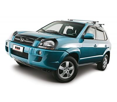 Дефлекторы окон (ветровики) Hyundai TUCSON 2004-2012 темные 4 шт. EGR (92435016B)