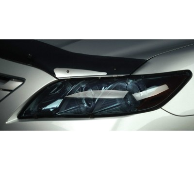 Защита фар Nissan Qashqai 2010- прозрачная EGR (227230)