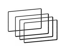 Набор 271000-13 универсальных декоративных кантиков для 2 DIN