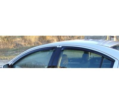 Дефлекторы окон (ветровики) Mitsubishi Galant 2004-2009 темные 4 шт. EGR (92460004B)