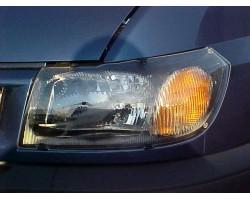 Защита фар Ford Transit 2006-2012 прозрачная EGR (4931)