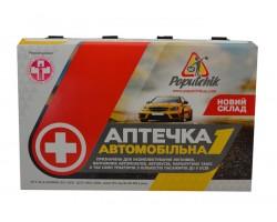 Аптечка автомобильная-1 Новый состав Poputchik (02-007-П)