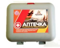 """Аптечка автомобильная """"Транспортная"""" Poputchik (02-003-П)"""