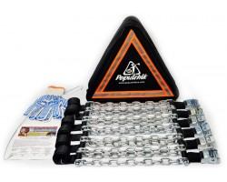 Браслеты противобуксовочные для внедорожников и микроавтобусов (6 шт) Poputchik (22-007)